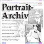 Portrait-Archiv – Datenbank / Register